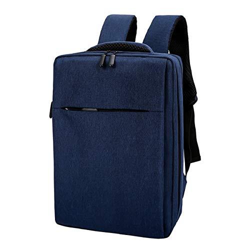 Beofine Laptop USB Rucksack Schultasche 16 Zoll Rucksack Reise Daypacks Freizeit Multi-Layer-Rucksack mit großer Kapazität für Männer Frauen,Blue Polyster Cover