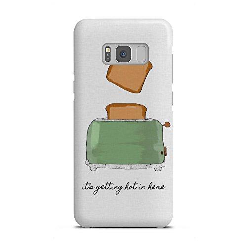 artboxONE Samsung Galaxy S8 Plus Premium-Case Handyhülle It's Getting Hot in Here von Orara Studio