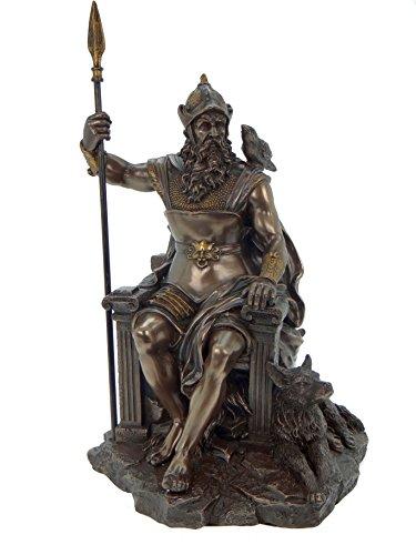 Mayer Chess Odin Bronzé mitología nórdica