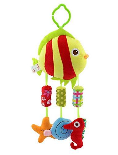 Baby Spielzeug Musikspielzeug Fisch für Babyschale Kinderwagen
