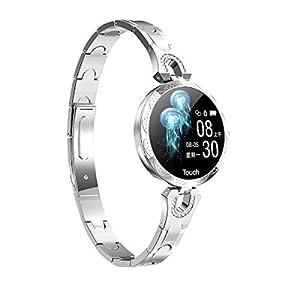 JHMAOYI Fashion Smart Watch Armband Anti-Fall gehärtetes Glas Zifferblatt Bewegung Schritt für Schritt Schlaf Gesundheitsinformationen Smart Watch Armband.