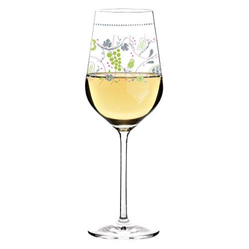 Ritzenhoff White Weißweinglas von Sandra Brandhofer, aus Kristallglas, 360 ml, mit Edlen...