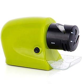 ZUEN Affûteur de Couteaux électrique Multifonction Couteau à affûter Artifact Cuisine Couteau Tournevis Ciseaux Aiguiseur Automatique Vert