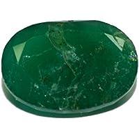 Esmeralda de Pakistán piedra preciosa natural & facettiert 4.29quilates