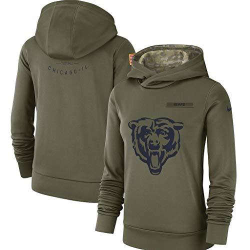 Fußball-T-Shirt Chicago Bears, das Fitnesskleidung Laufen lässt, die Kleidung ausbildet ()