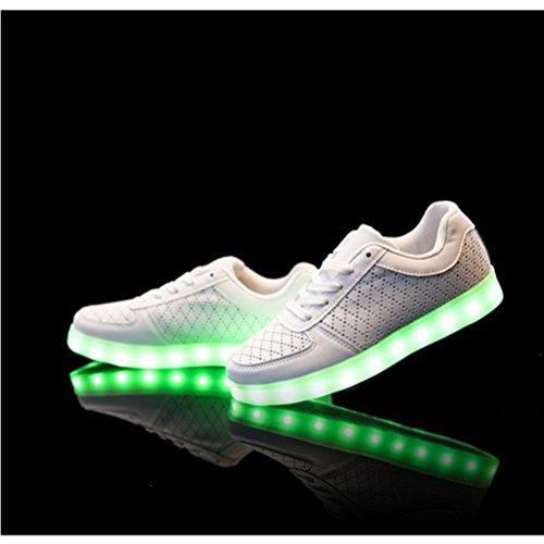 [+Kleines Handtuch]Kinderschuhe USB Lade Licht Jungen emittierende Schuhmädchenschuh leuchtende LED beleuchtete Sportschuhe großer Junge Sc c16