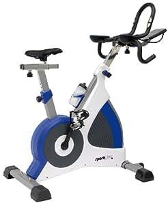 SportPlus 10103800 SP-SRP-3000 Vélo d'appartement Blanc/bleu