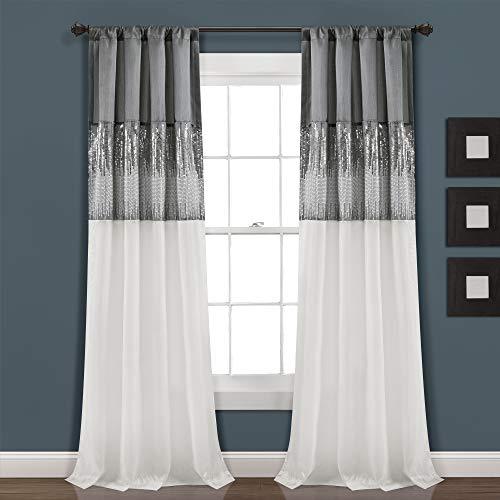 Lush Decor Vorhang für Wohnzimmer, Schlafzimmer, Esszimmer,