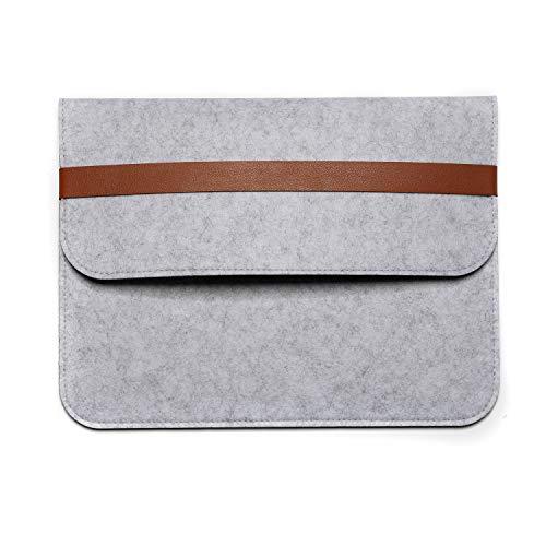 Therm La Mode Filzhülse 12/13.3/15.4 Zoll Wolle Laptop Schutzhülle Schutzhülle mit modernem Design-Design Apple MacBook Pro Retina Doppel-Pakete