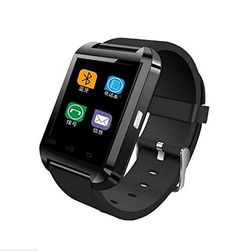 nuiko Fitness Smartwatch Bluetooth 4.0, Unisex Multifunktions Uhr mit Kamera Schrittzähler, Sport Smart Watch Pulsmesser Fitness Tracker Running GPS-Geräte