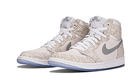 Nike Air Jordan 1 Retro HI OG Laser, Chaussures de
