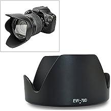 Fomito EW-78D - Parasol de objetivo (72 mm) para Canon 18-200 mm f/3.4-5.6 IS, 28-200 mm f/3.4-5.6 USM, 28-200 mm f/3.4-5.6 (para repuesto de Canon EW-78D)