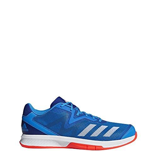 adidas Herren Counterblast Exadic Handballschuhe, Blau (Azubri/Ftwbla/Rojsol 000), 42 2/3 EU