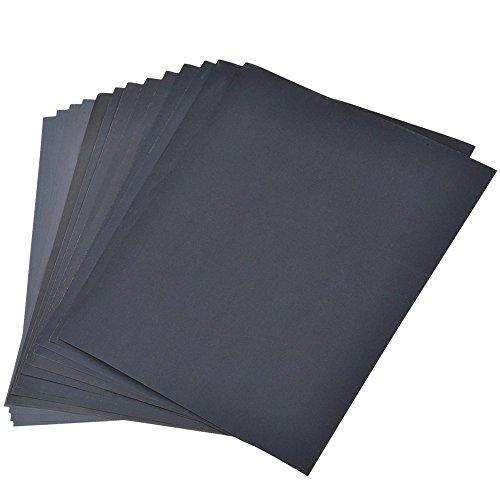 800-3000 Grit Schleifpapier Sortiment, Trocken / nass, für Automobil-Schleifen Holzmöbel,...