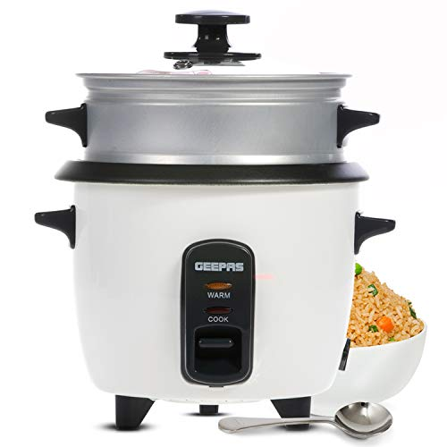 Geepas 1L Rice Cooker with Steam...