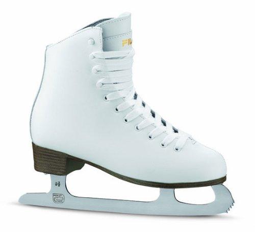 Fila Schlittschuhe Eve BS - Patines de patinaje sobre hielo, color blanco, talla 38 EU