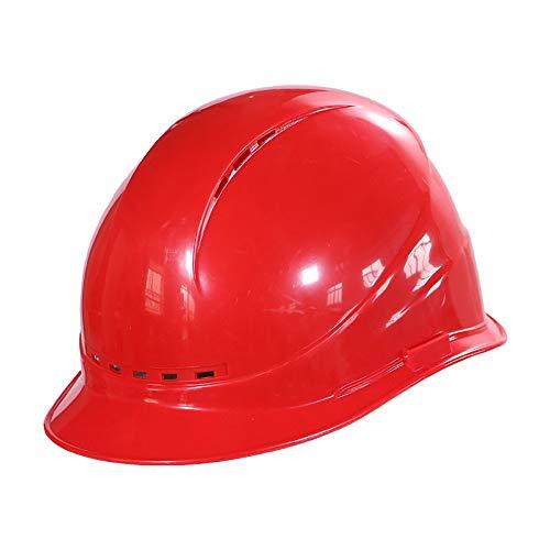 ll Arbeitshelm,Einstellbarer Schutzhelm für Erwachsene,Schutzhelm ideal für die Baustelle oder Handwerker,EN 397,Bauhelm mit 4-Punkt-Aufhängung, ()