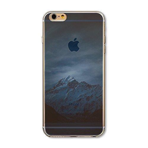 Coque iPhone 6 Plus 6s Plus Housse étui-Case Transparent Liquid Crystal en TPU Silicone Clair,Protection Ultra Mince Premium,Coque Prime pour iPhone 6 Plus 6s Plus-Paysage-style 18 27