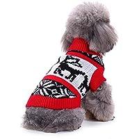 Ropa para Perro, Suéter de Perro Mascota Ropa para Mascotas Suéter Invierno Calor Mascotas Ropa