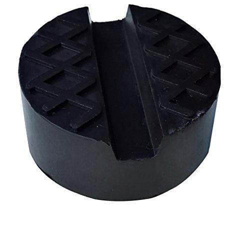 Preisvergleich Produktbild Gummi-Auflage für Wagenheber universal einsetzbar, für Aufbocken zum Radwechsel von Winterreifen, Sommerreifen, Ganzjahresreifen, Hebebühne, Durchmesser 65 mm Höhe 32 mm