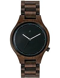 MAM Originals · Owl Black | Reloj de Hombre | Diseño Minimalista | Reloj de Madera