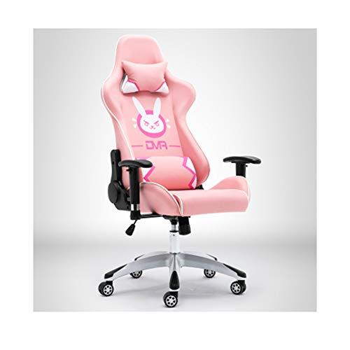 Racing-spiel Stuhl (Computer Stuhl Spiel Stuhl E-Sport Stuhl Haushalt Rosa Racing Stuhl Schlafsaal Stuhl Anker Stuhl-2)