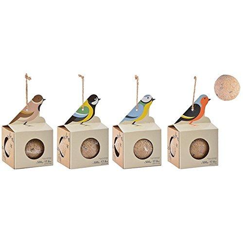 Bola de grasa de 500g, lista para colgar y para el uso, comida para pájaros silvestres