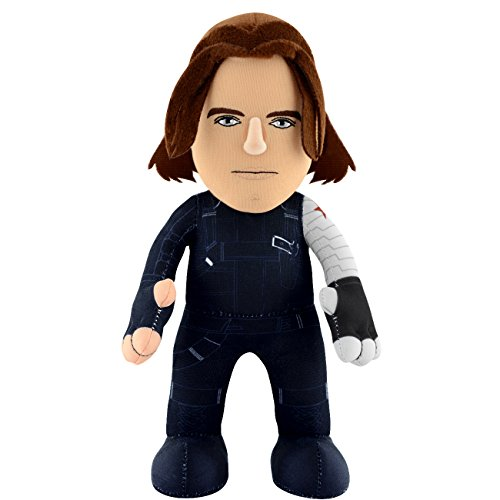 Captain America Civil War - Winter Soldier - Bucky Plush - Marvel - 25cm 10""