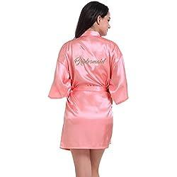 Bata dama de honor - Rosa - Más colores a elegir