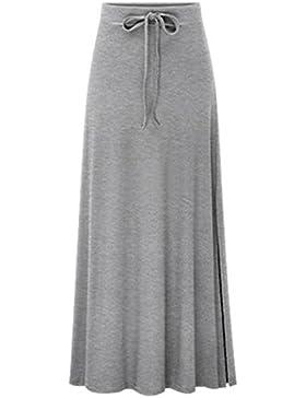 Guiran Falda Largas Mujer Casual Falda De Cóctel De Noche Elegante Elástico Falda