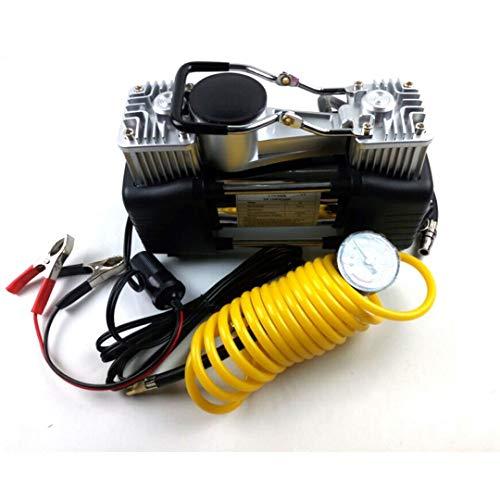 YLWB Luftkompressor, Reifen-Pumpe tragbare 12V 150PSI Auto Meter Reifen,170W Leistung Doppelzylinder Luftpumpe