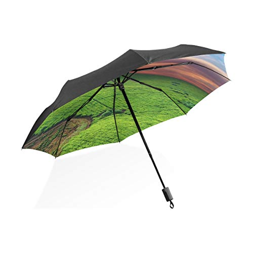 Plantation Golf (Umbrella Tea Plantation In Uganda 3 faltet sich leichtes Anti-UV)
