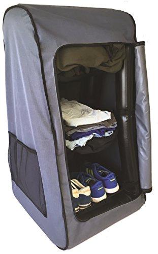 Leisurewize AirDrobe aufblasbarer Kleiderschrank - für Camping, Vorzelt, Wohnmobil