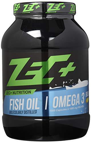 ZEC+ OMEGA-3-Fettsäuren 1000 Kapseln | hochdosierte Fischöl Kapseln | EPA DHA