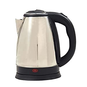 Home Elite Shiny Steel 1.8-Litre Electric Kettle (Silver)