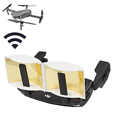 Anbee Foldable Antenna Amplifier Signal Booster Range Extender for DJI Mavic Pro Drone Remote Control