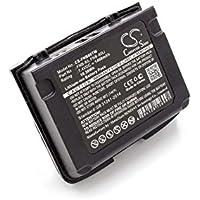 vhbw Li-Ion batería 1400mAh (7.4V) para radio, walkie-talkie Vertex/Yaesu VX-5E, VX-5R, VX-5RS, VX-6, VX-6E, VX-6R, VX-7E, VX-7R, VX-7RB