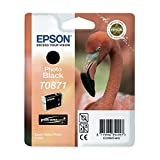 Epson C13T08714010 Tintenpatrone Flamingo, Singlepack, Foto schwarz