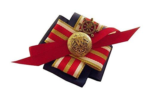 Marine-Art-Kinder Schöne Brosche schönen Pullover Hut Corsage Pin Clips Blau (Cameo-pins Und Broschen)