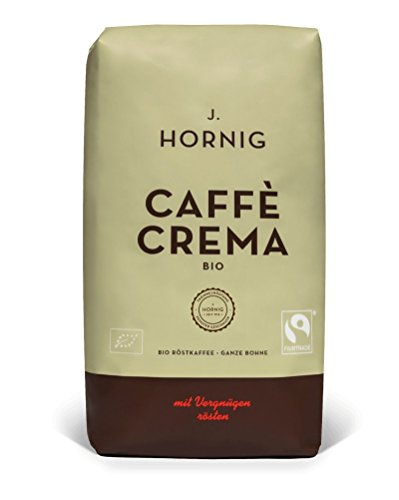J. Hornig Alles Bio Espresso Creme ganze Bohne, 1000 g