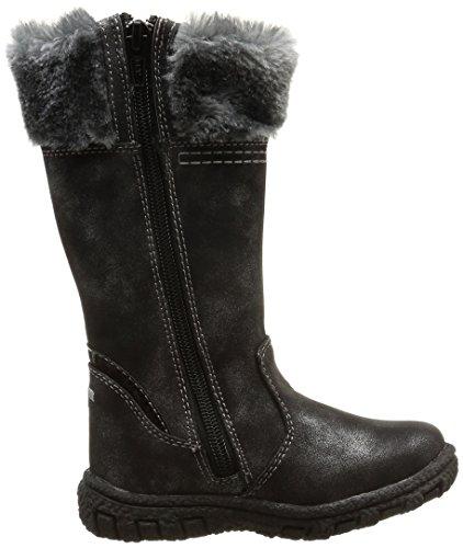 TOM TAILOR Kids  Tom Tailor Kinderschuhe, Bottes de neige de hauteur moyenne, doublure chaude filles Noir (Black)