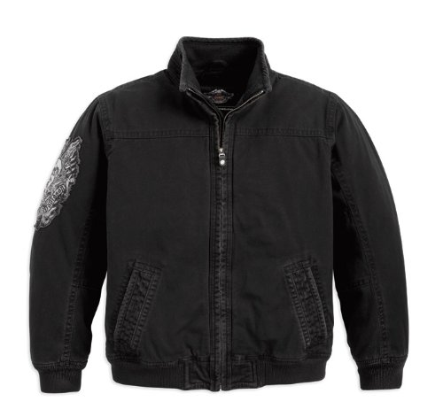 Harley-Davidson Bomberjacke Washed 97500-12VM Herren Outerwear