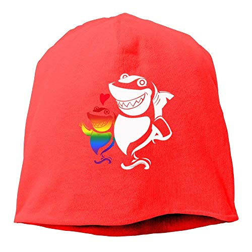 Preisvergleich Produktbild WEERQ Mommy Shark and Son Beanie Hat Skull Cap Men