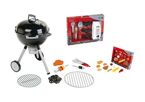 Preisvergleich Produktbild Weber Kugelgrill Griller für Kinder + Zubehör Set Lebensmittel