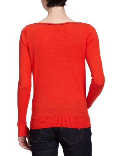 VERO MODA Damen Top, 10074359 Rot (DARK POPPY RED)