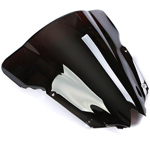 CICMOD Parabrisas Moto Cúpula Parabrisas Moto Antiviento Windshield WindScreen para Yamaha YZF...