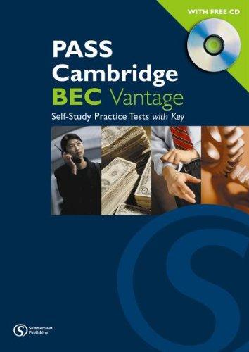 Pass Cambridge BEC (B2) Vantage - Self Study Practice Tests mit Audio-CD...
