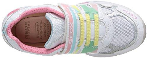 Geox Shuttle, Sneaker bambina Bianco (White/Multicolor)