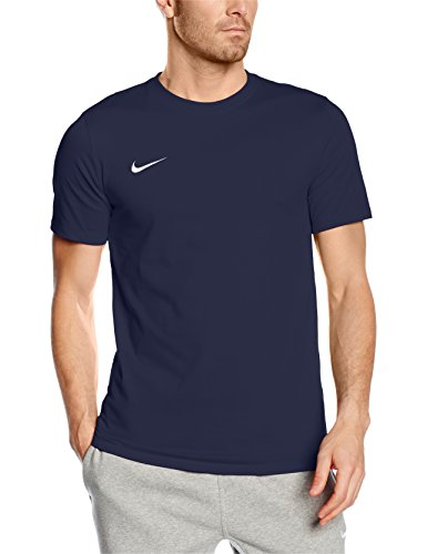 Nike Maglietta a maniche corte Team Club Blend Tee, Uomo, T-shirt Club Blend, Obsidian/football White, S