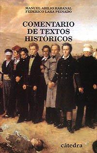 Descargar Libro Comentario de textos históricos (Historia. Serie Menor) de Federico Lara Peinado